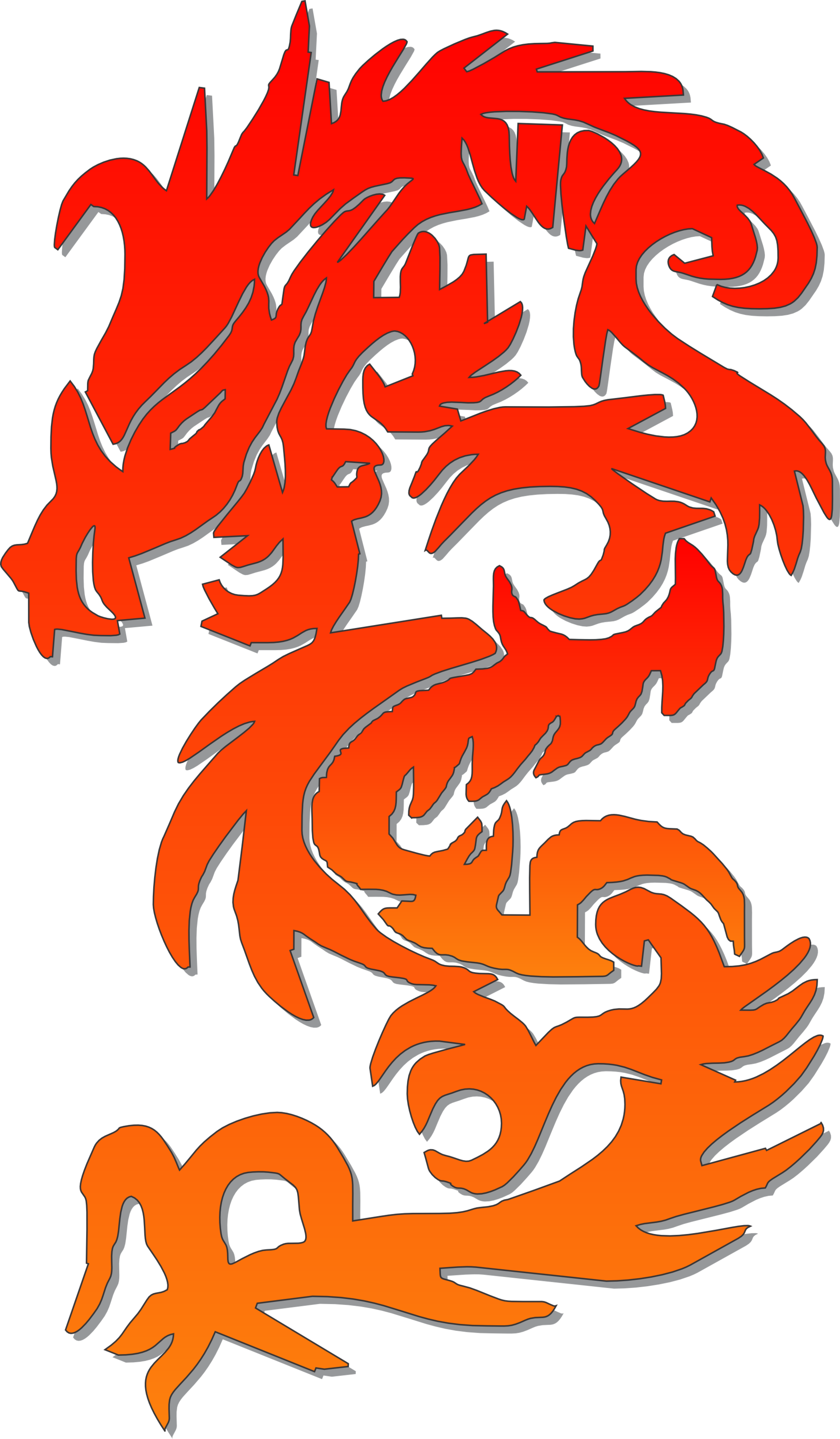 Hurricane clipart abstract. Chinese dragon calendar embroidery