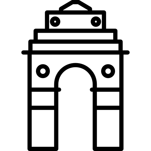 Asian clipart gate. Black and white free