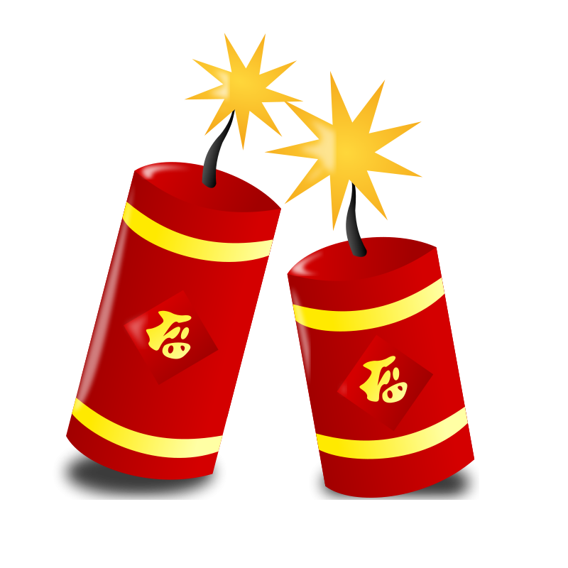 Asian clipart happy. Free chinese new year