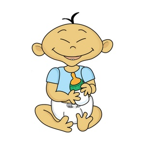 Asian clipart happy. Free baby image acclaim