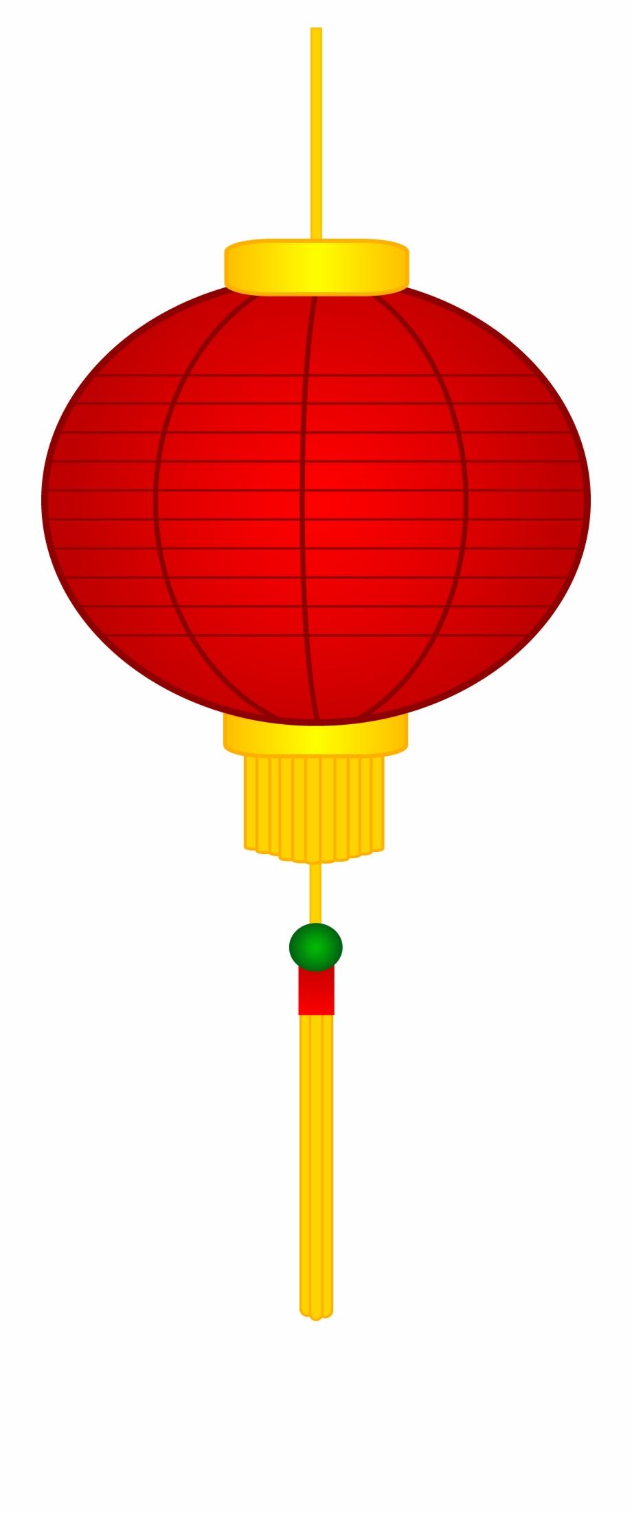 Asian new year . Chinese clipart lantern