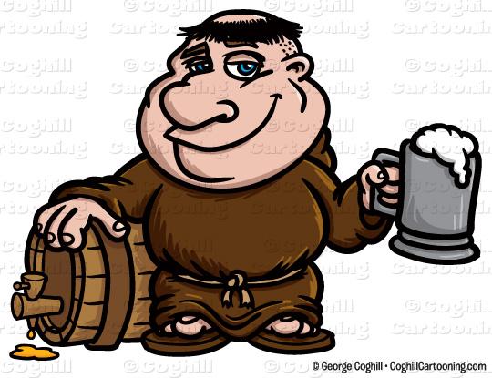 Monk panda free images. Beer clipart cartoon