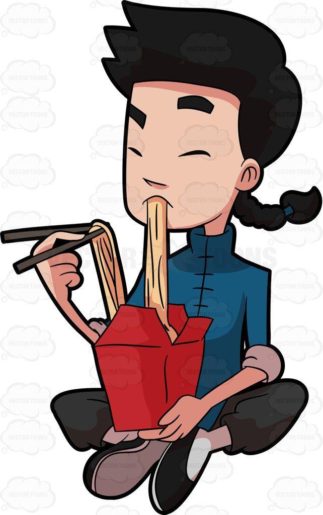 Asian clipart nerd. A kung fu man