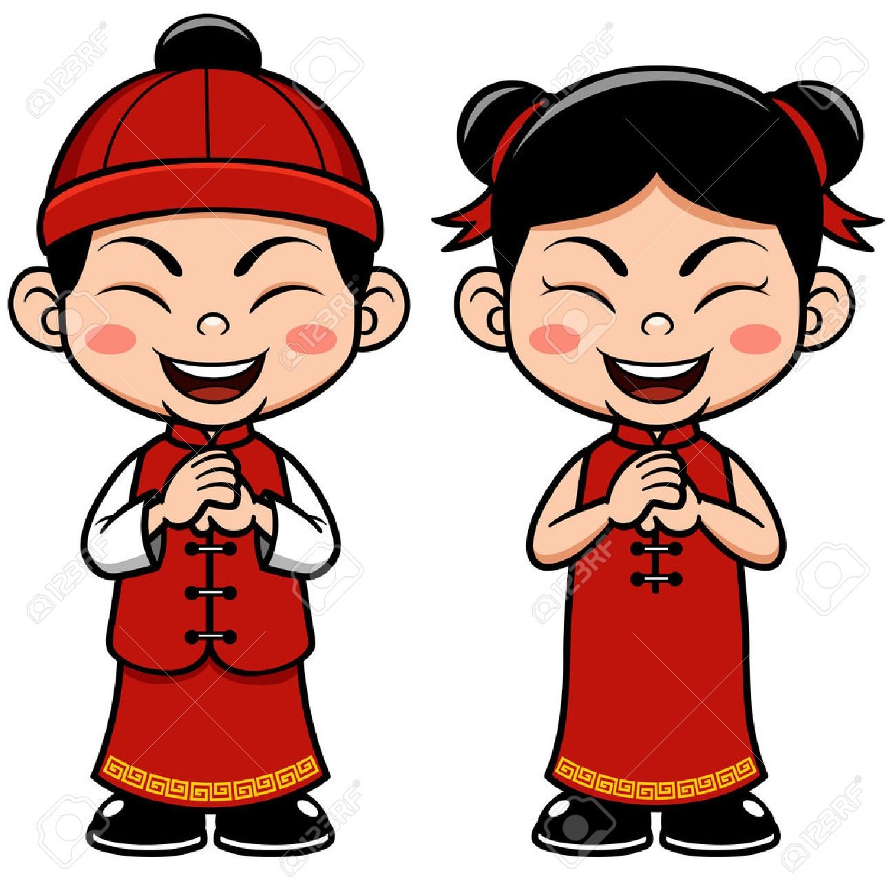 Asian clipart toddler. Asians chinese kid pencil