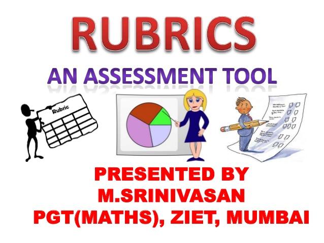 Assessment clipart assessment tool. Rubrics ppt