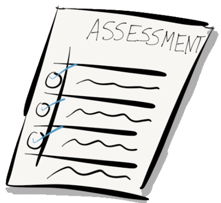 Free download best . Assessment clipart black and white