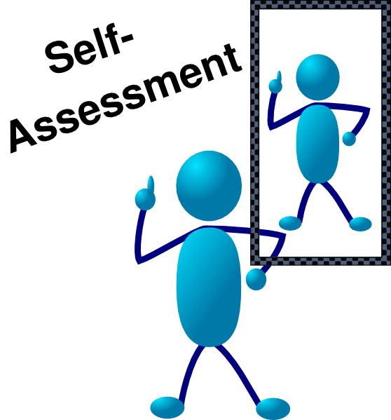 Blue stick man self. Clipart definition mapping