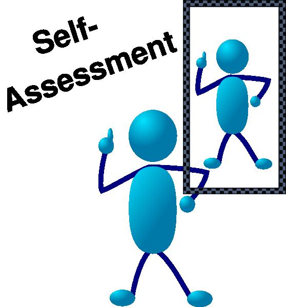 Blue stick man assessment. Mirror clipart self esteem
