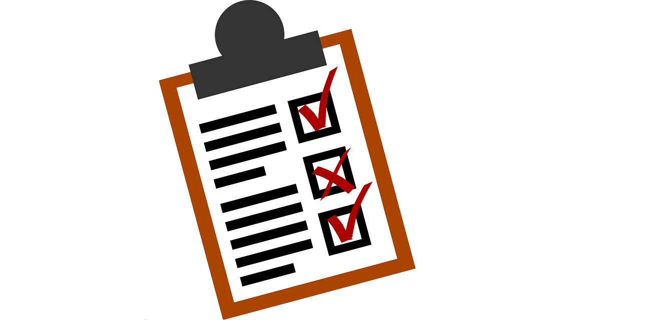 Mobile testing top things. Assessment clipart checklist