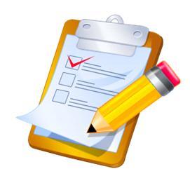 Plan my health blogs. Assessment clipart checklist
