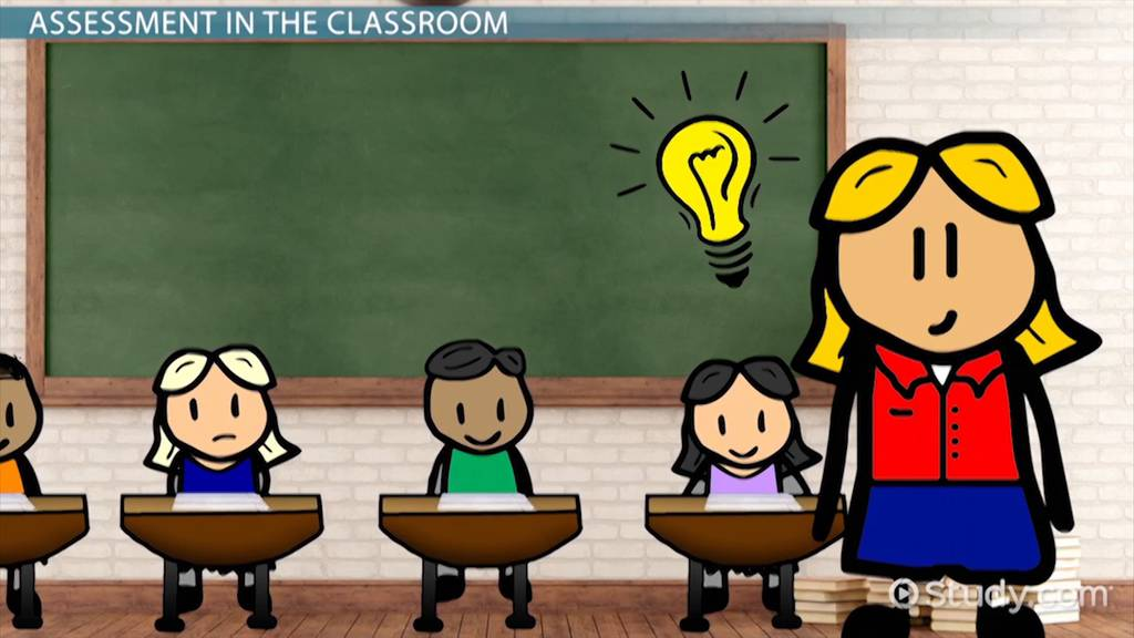 Student in the tools. Assessment clipart classroom