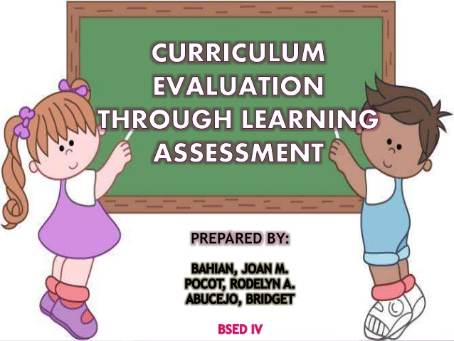 Assessment clipart course outline. Curriculum evaluation through learning