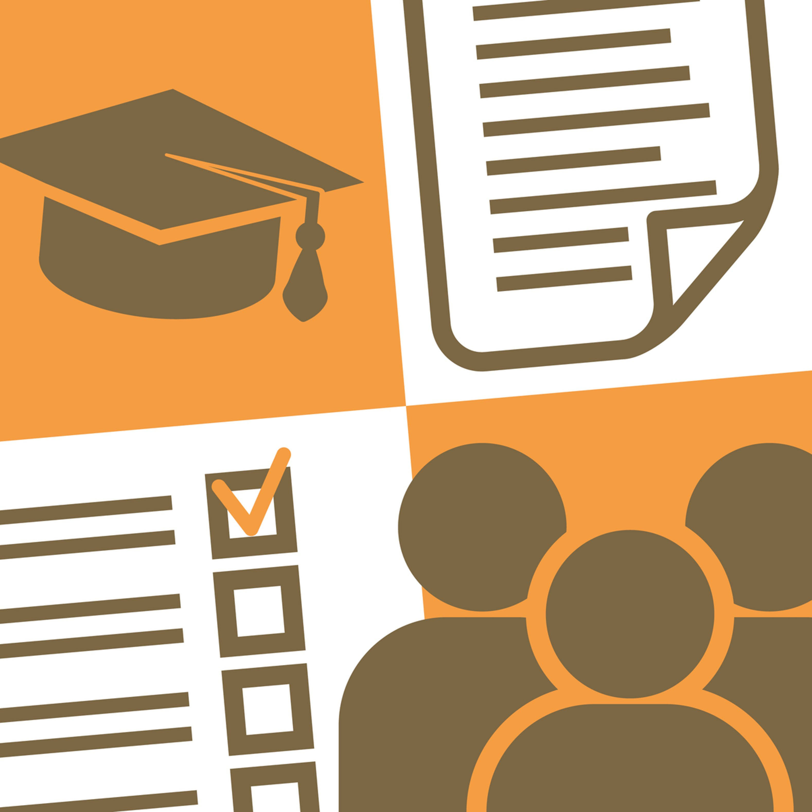 In higher education professional. Assessment clipart course outline