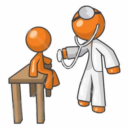 Free physical examination cliparts. Medical clipart medical exam