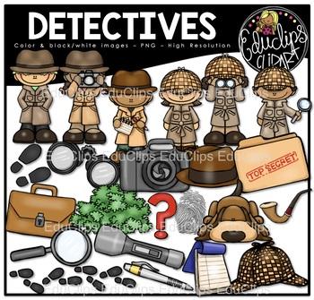 Detective clipart problem solving. Teaching resources teachers pay