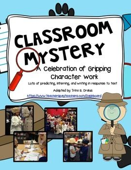 best writing unit. Assessment clipart mystery