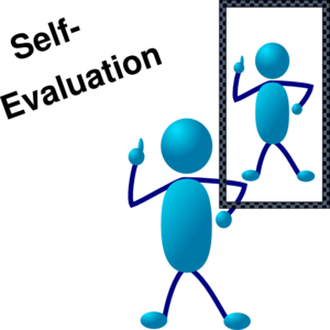 Assessment clipart personal. Blue stick man self