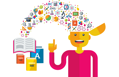 The benefits of practice. Psychology clipart based learning