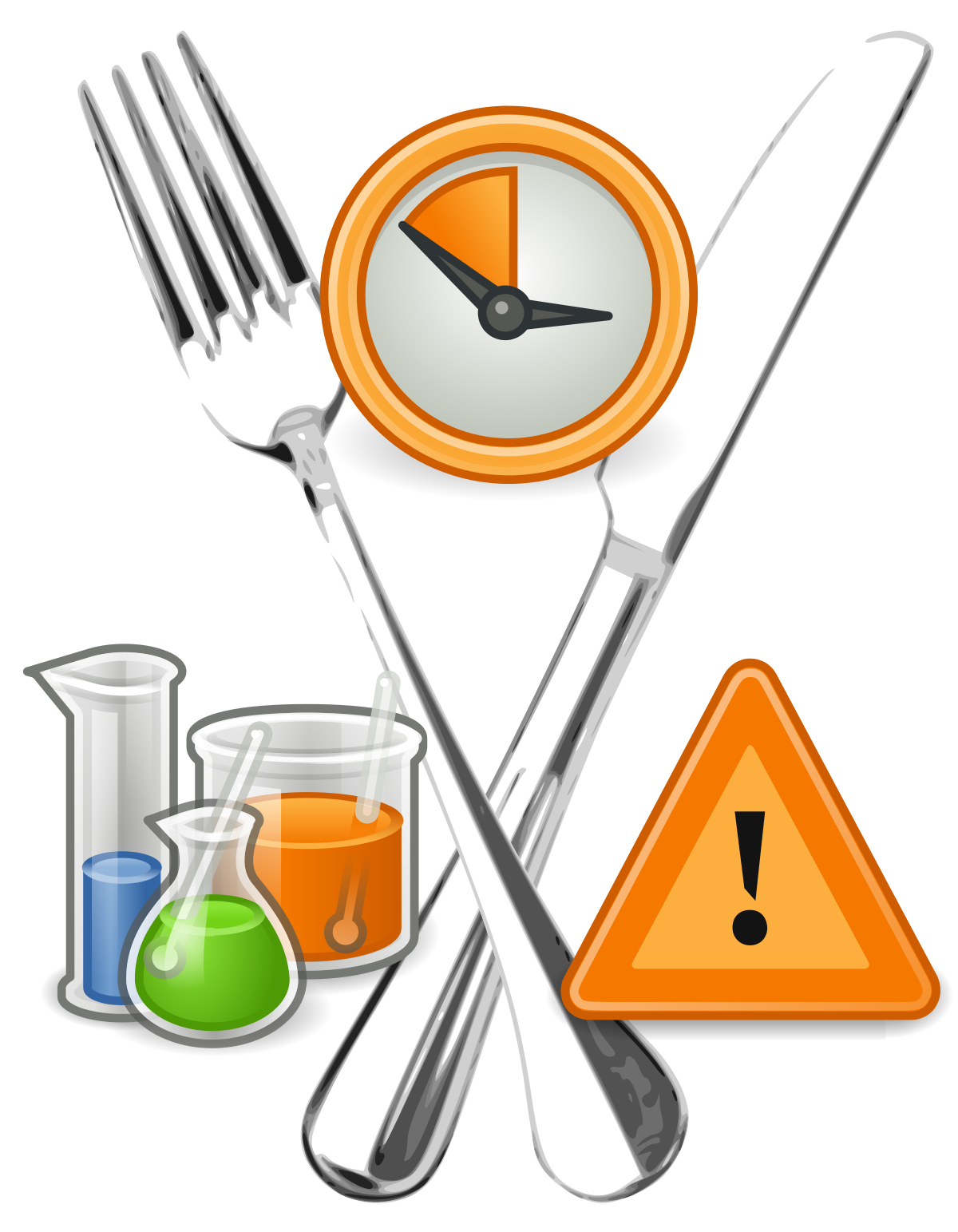 Bacteria clipart lab safety. Food wikipedia