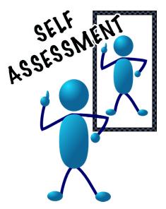 Monroneynews touch and go. Assessment clipart self assessment