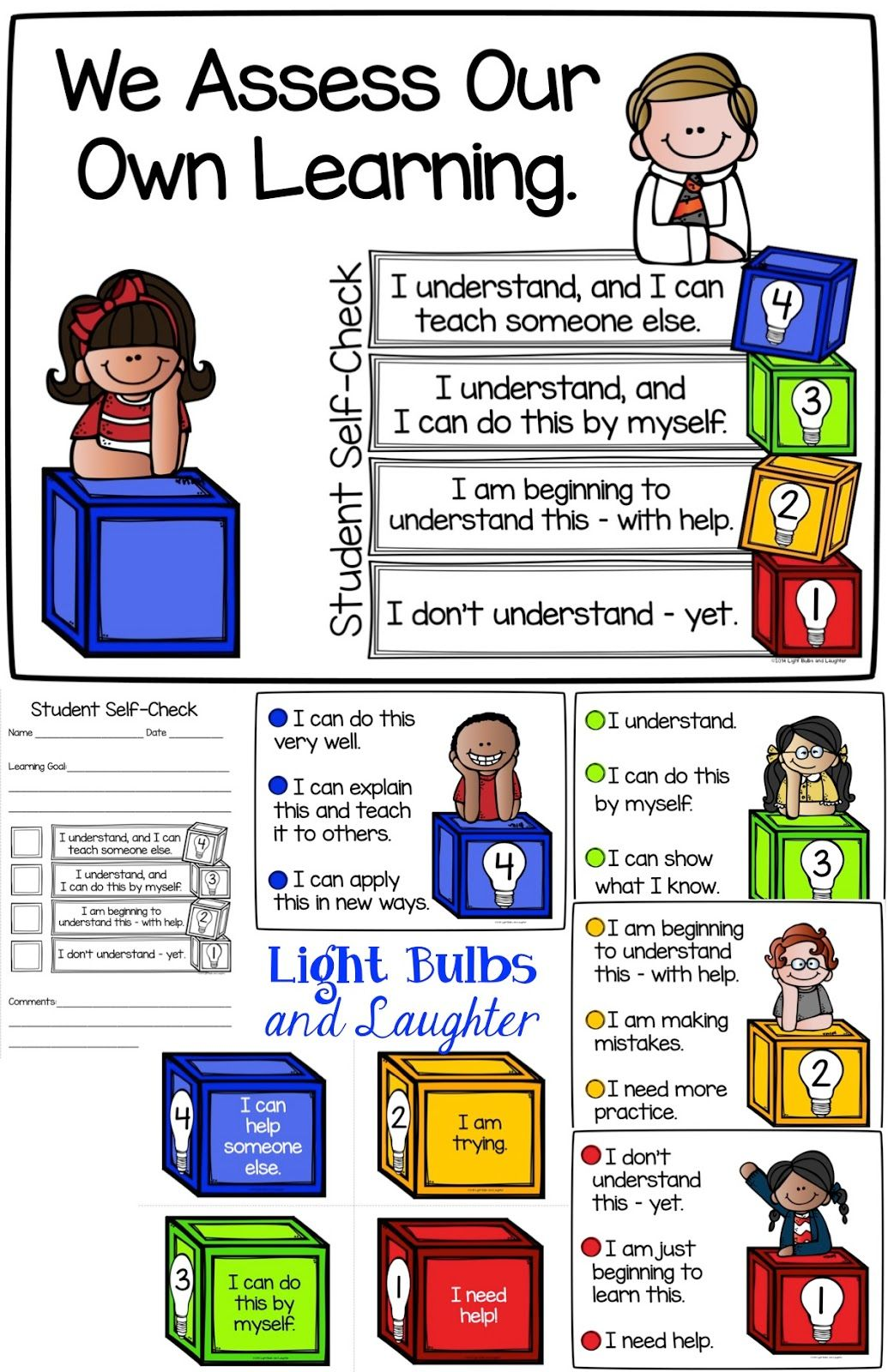Assessment clipart student thinking. Metacognition helping students assess