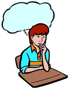 Author clipart thinking. Formative assessment teaching english