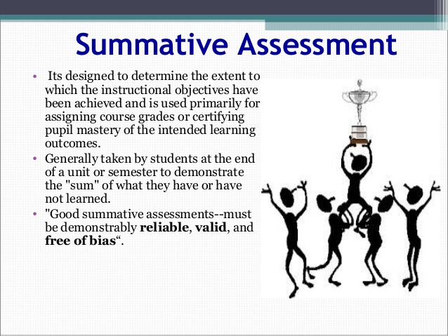 Assessment clipart summative assessment. Characteristics of evaluation