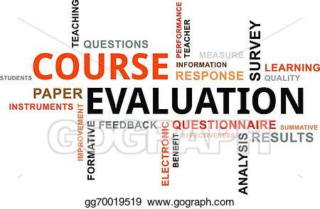 Eps illustration word cloud. Assessment clipart survey