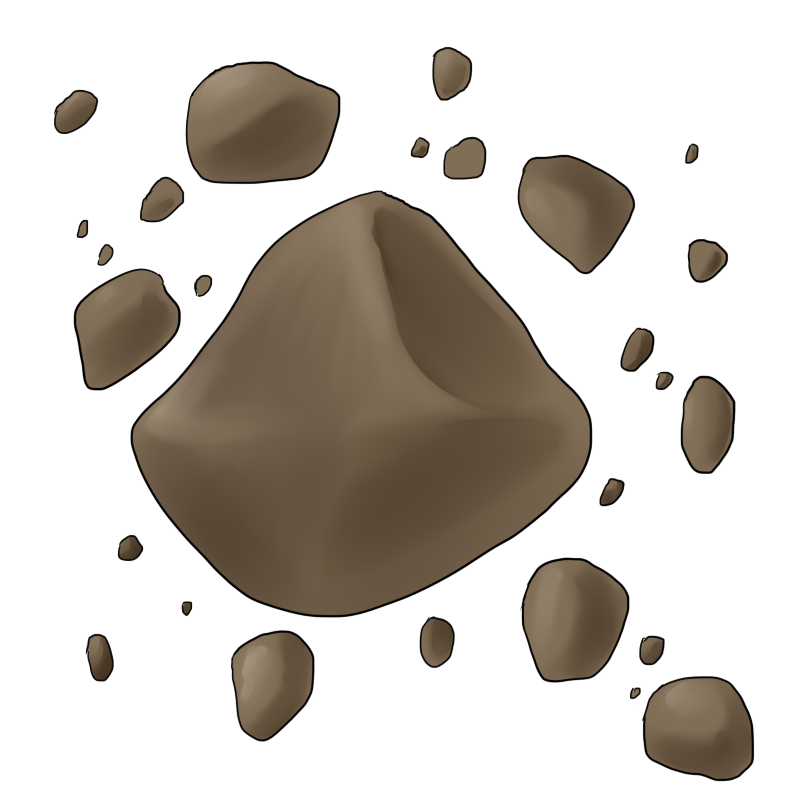 Asteroids page pics about. Asteroid clipart animated
