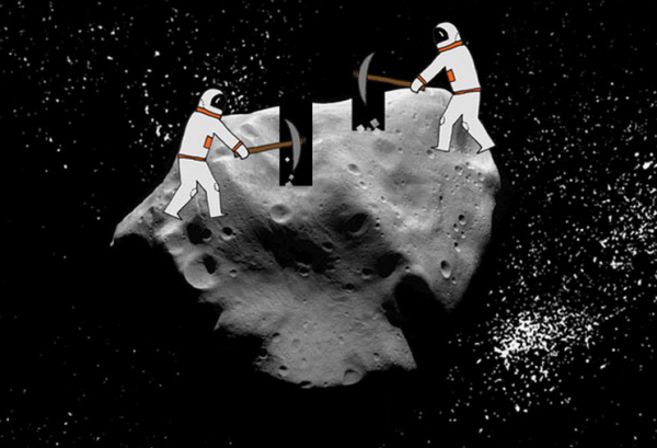 Asteroid clipart asteriod. Is mining a real