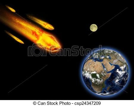 Inspiration meteor royalty free. Asteroid clipart bold