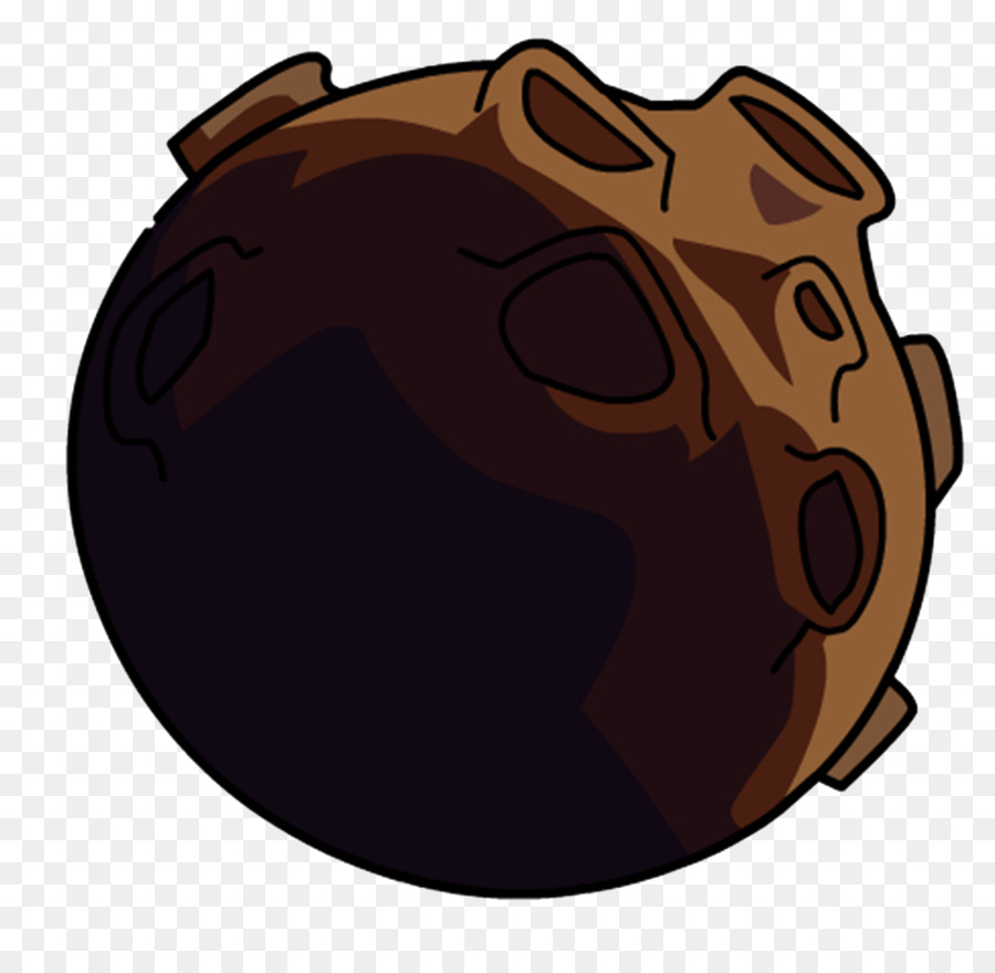 Meteorite animation clip art. Asteroid clipart brown