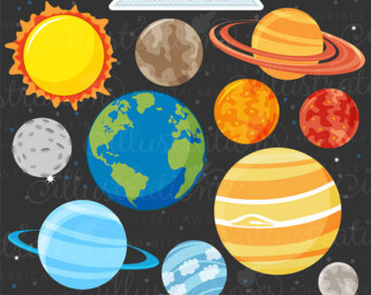 Outer space pencil and. Asteroid clipart cartoon