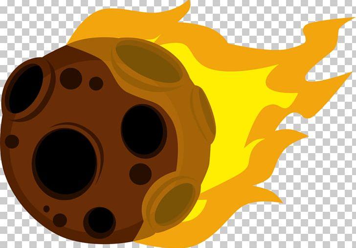 Meteoroid meteorite meteor shower. Asteroid clipart cartoon