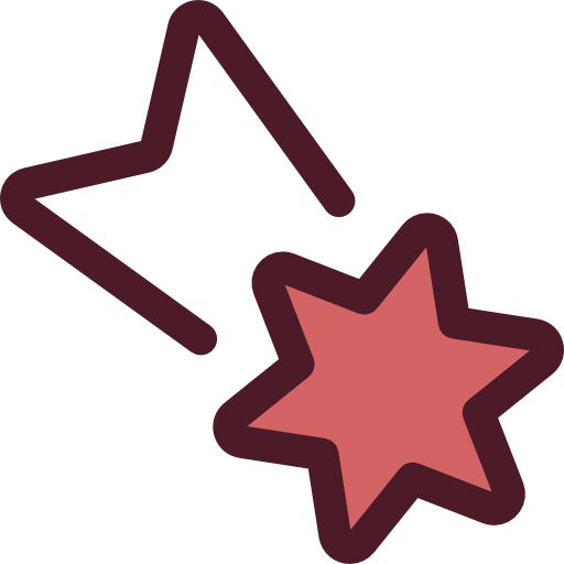 Asteroid clipart comet star. Icon page