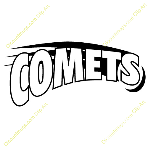 Asteroid clipart comet tail. With this comets clip