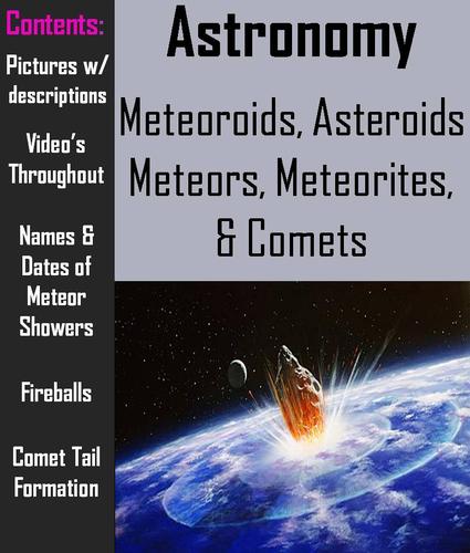Asteroid clipart comet tail. Comets meteors meteoroids meteorites