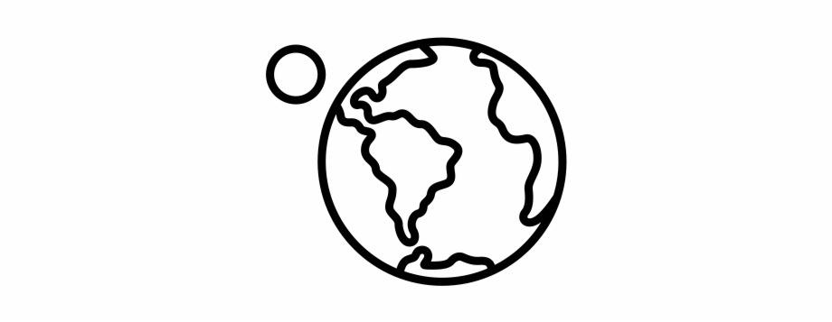 Drawing pen armageddon icon. Asteroid clipart draw