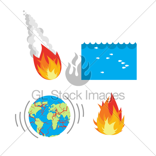 Asteroid clipart meteor impact. Natural disaste rplanet earth