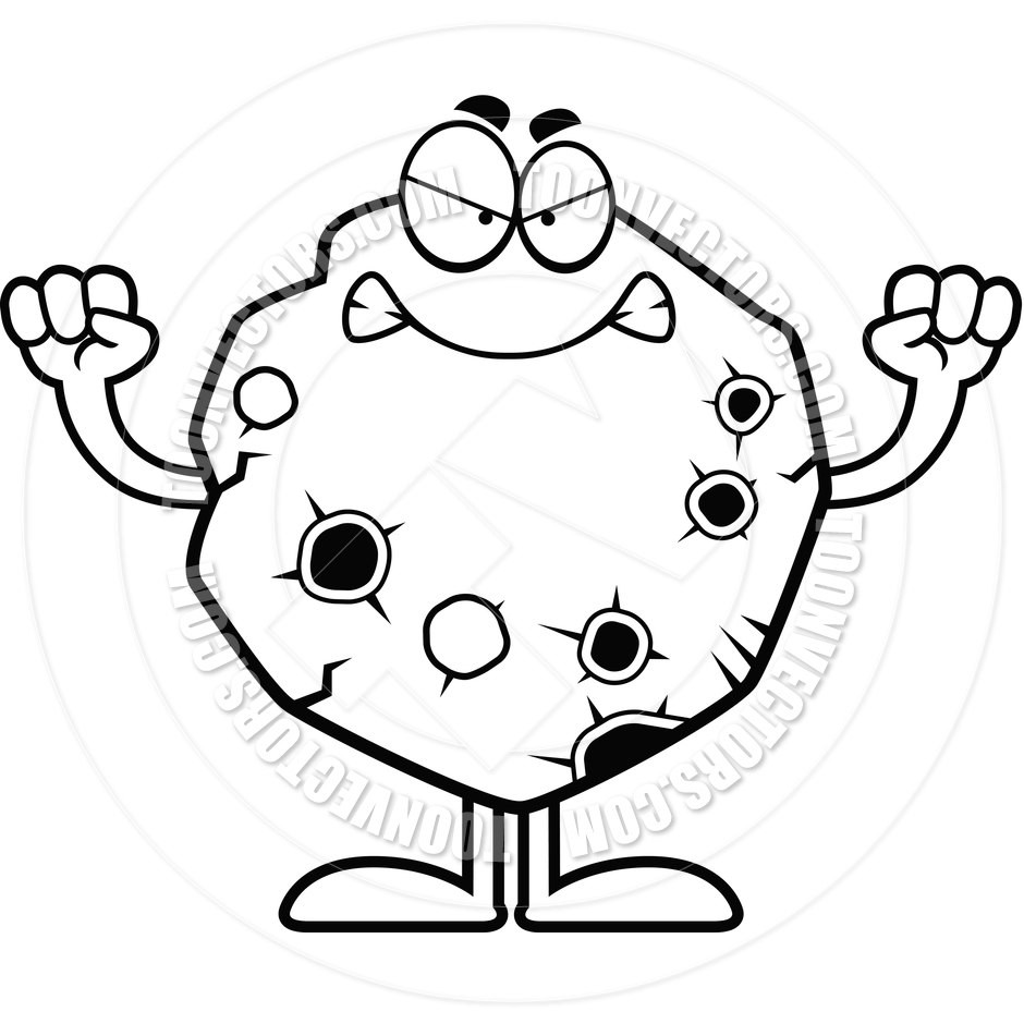 Asteroid Clipart Black And White