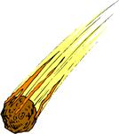 Meteorite meteor panda free. Asteroid clipart meteoroid