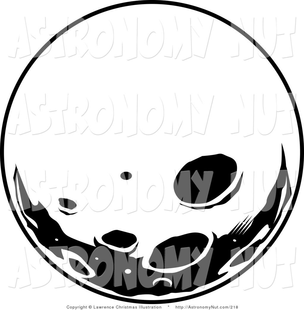 Asteroid clipart moon crater. Clip art black and