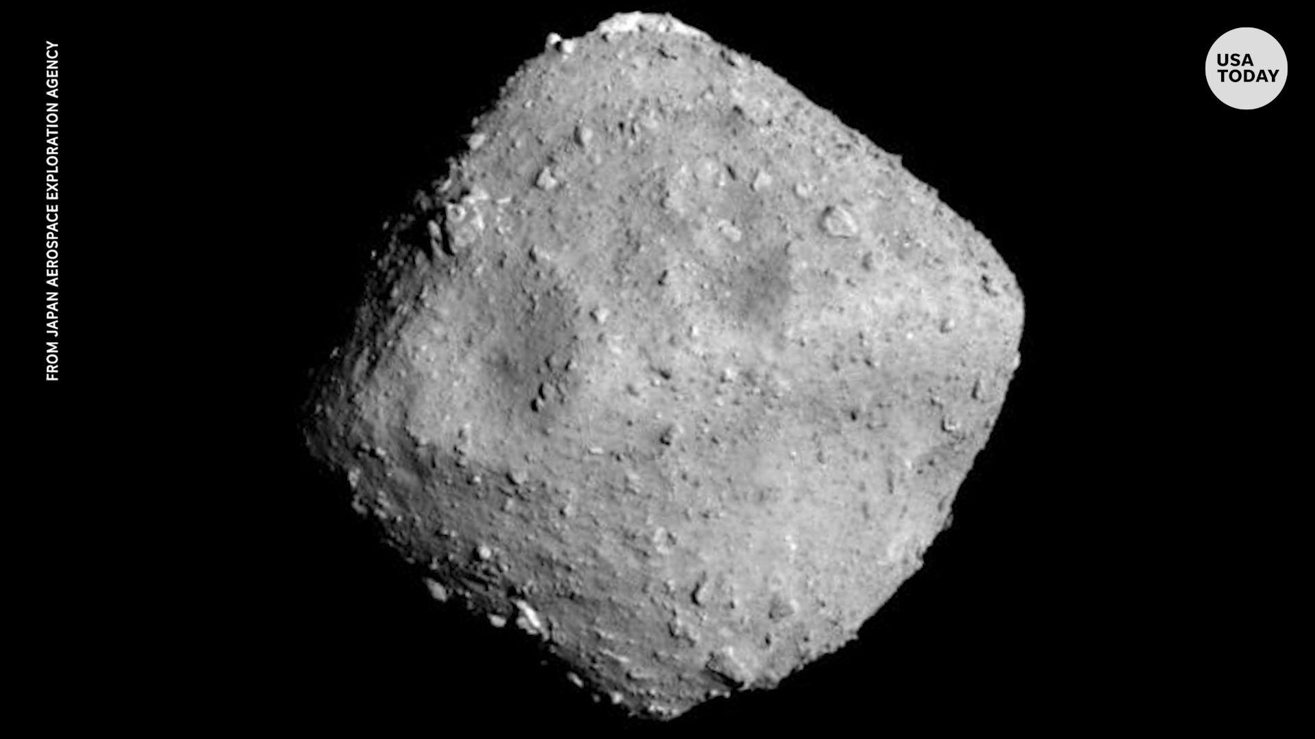 Kvue com japanese spacecraft. Asteroid clipart round stone