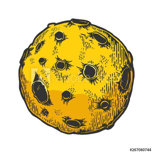 Asteroid clipart scratch. Planet with meteorite impact