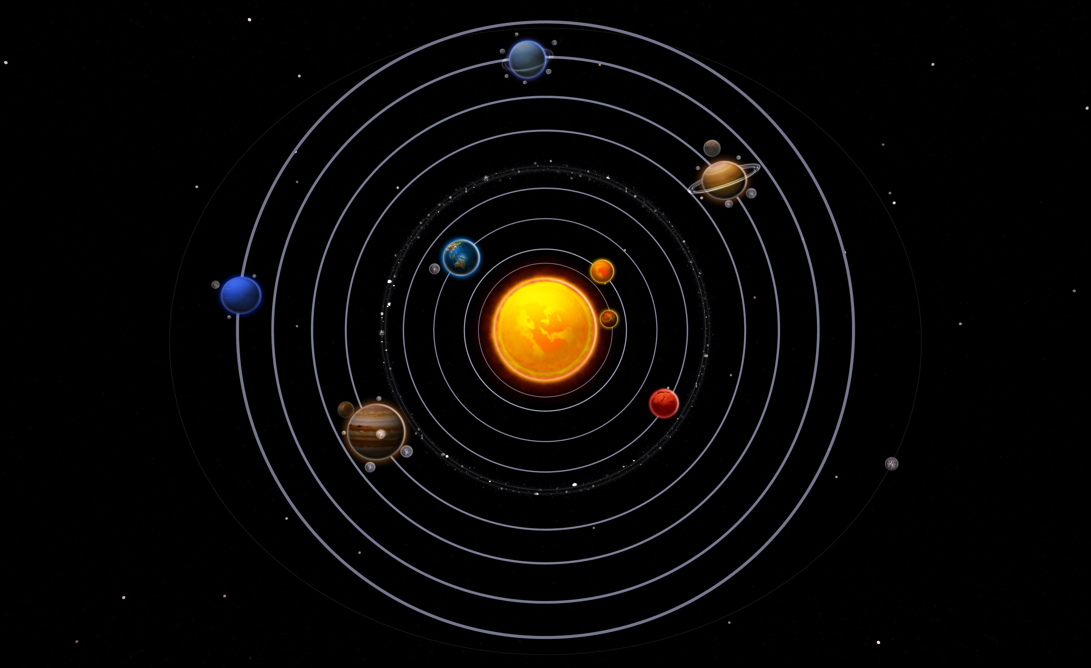 Asteroid clipart solar system space. Pictures in order pics