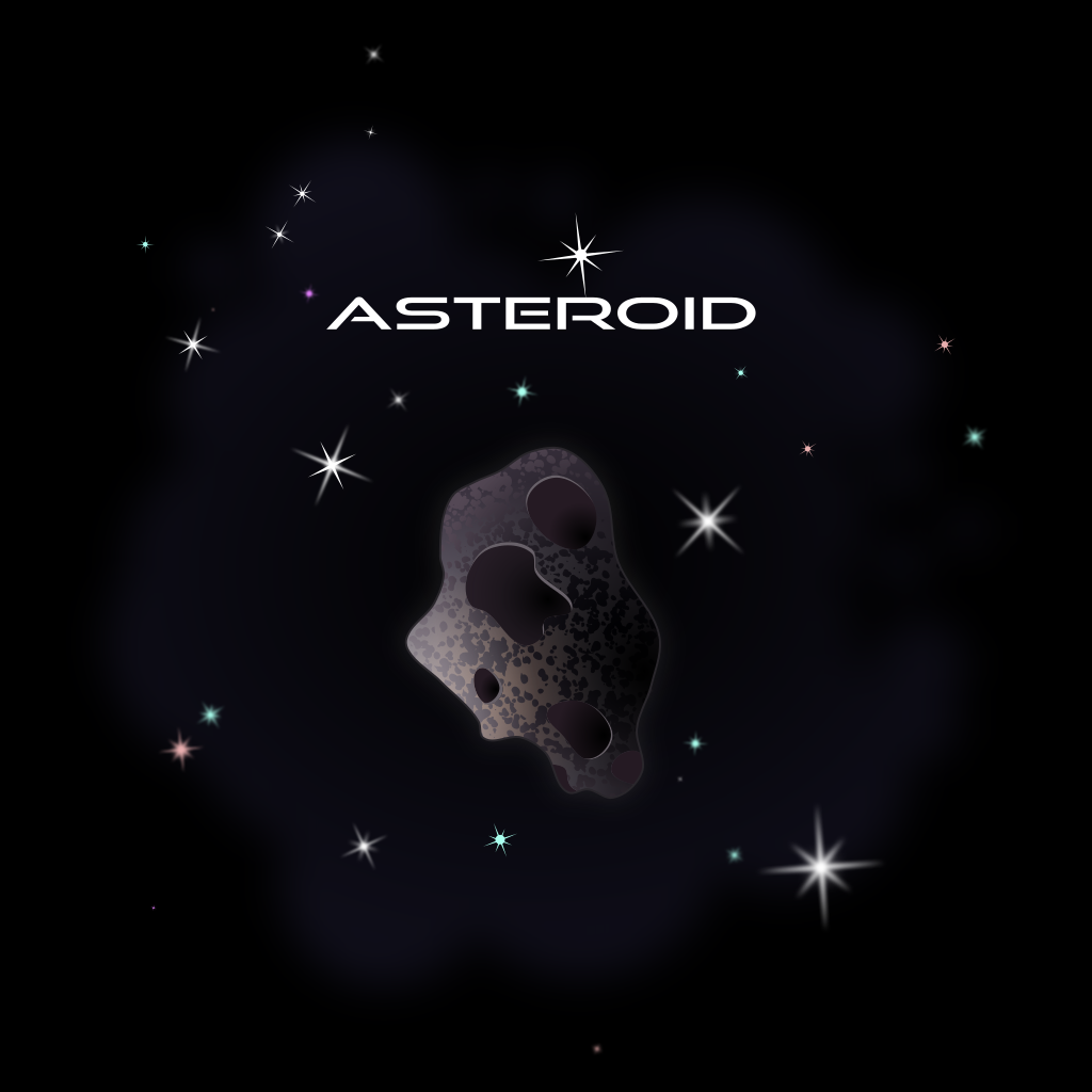 Asteroid clipart space thing. File svg wikimedia commons