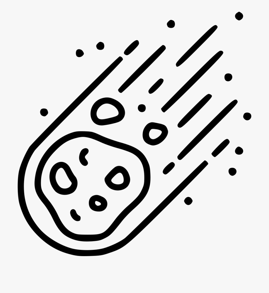 Cliparts cartoons . Asteroid clipart svg