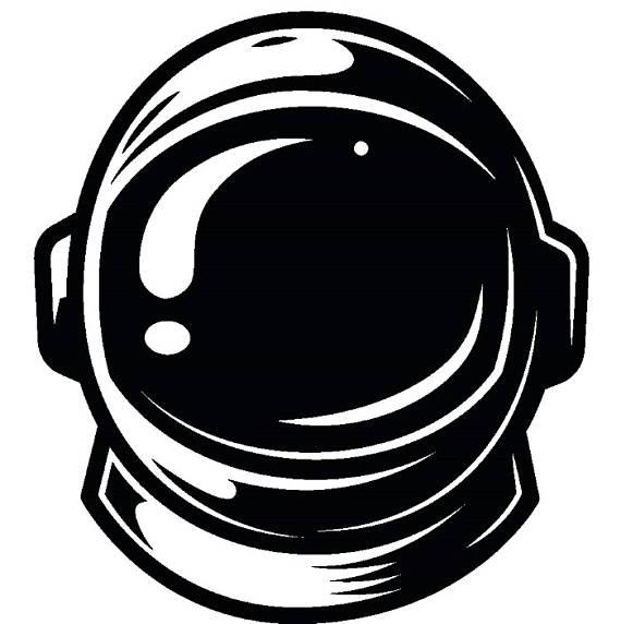 Astronaut helmet shuttle suit. Astronomy clipart space exploration