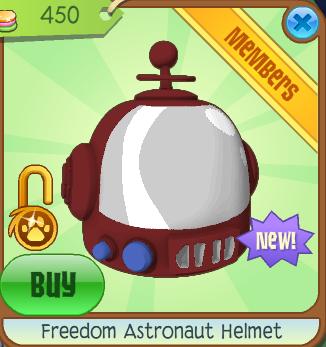 Astronaut clipart astronaut helmet. Freedom animal jam wiki