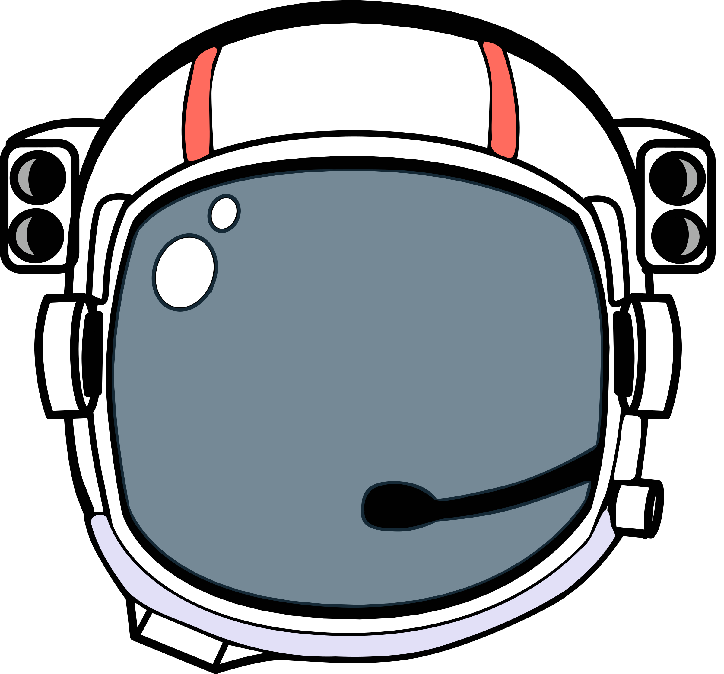 Clipart. Space helmet png